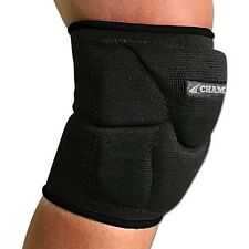 "Champro Sports Pro-Plus 6"" Low Profile Volleyball Knee Pads Dri-Gear Black, S-L"