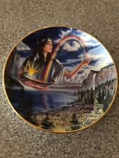 Franklin Mint Royal Doulton Rainbow Maiden Limited Edition Plate