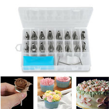 32Pcs Russian Tulip Flower Icing Piping Cream Nozzle Cake Decor Tips Baking