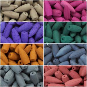 Back Flow Incense cones large range of fragrances, packs of 20 or 50 miixed