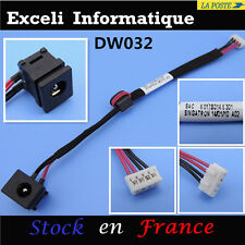 Dc power jack socket avec cable wire 4 pins Toshiba Satellite Pro  A200 A300