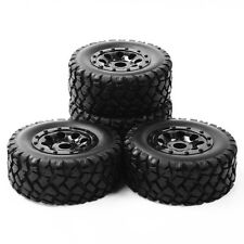 107mm Short Course Tire Rim Set 4Pcs For HSP HPI Racing TRAXXAS SLASH 1:10 Truck
