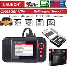 LAUNCH Creader VII+ VIII Car OBD2 Scanner Code Reader Auto Fault Diagnostic Tool