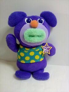 "Mattel The Sing-A-Ma-Jigs Dark Purple 9"" preowned"