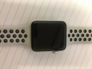 Apple Watch series 3 42mm with Nike sports band used