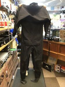 Royal Navy Issue Northern Diver SF Black Lightweight Drysuit Size L