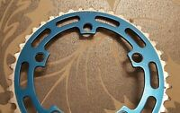 Beautiful Suntour Chain Ring 41t blue anodised - Old School BMX
