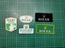 patch ecusson lot de 5 patchs rolex
