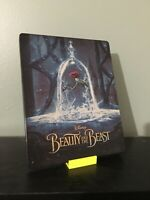 BEAUTY AND THE BEAST (2017) STEELBOOK BLURAY