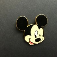 WDW Cast Lanyard Series - Mickey Winking Disney Pin 10998