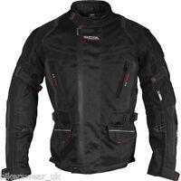 Richa Ridge Jacket Motorcycle Motorbike Black Jacket size 3xl , 4xl only - £80