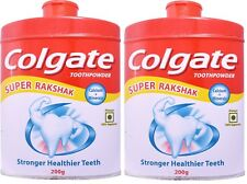 2X Colgate Tooth Powder For Stronger Healthier Teeth - 200 Gram