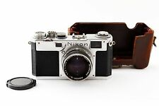 Nikon S2 35mm Rangefinder Film Camera with 50mm f1.4 lens Kit from Japan as-is
