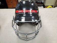 Under Armour Batting Helmet w/Mask Black OSFM(6 1/2 to 7 3/4)Brand New w/Tags
