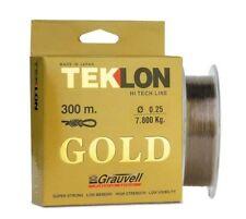 Grauvell Teklon Gold 300m Spool -  All Breaking Strains!