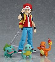 figma Pokemon Red action Figure Squirtle Charmander Bulbasaur from JAPAN