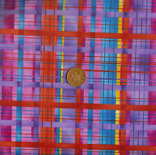 Bernatex - Grandma's House 1552/60 Pink, Blue, Red 100% Cotton Fat Quarter