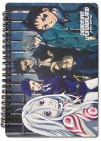 Deadman Wonderland Spiral Notebook Note Book Anime NEW