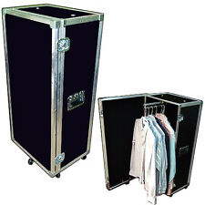 SMALL COMPACT ATA WARDROBE CASE TRUNK w/Pullout Hanging Bar