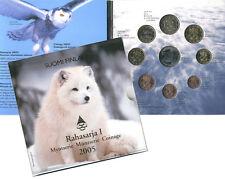 Finlandia 2005-Oficial (BU) moneda euro Set-especies animales en peligro