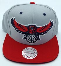 NBA Atlanta Hawks Mitchell & Ness Structured Snap Back Cap Hat Beanie M&N NEW!