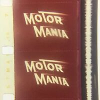 "16MM Film Cartoon: Disney's - ""Motor Mania"""