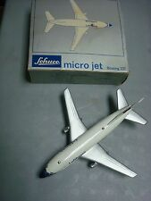 Vintage Schuco Die Cast Boeing 737 Micro Jet Made In Germany #1029-W/Box-Nice!