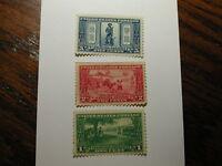 U.S. Scott #617-19 - 1c-2c & 5c, The Lexington Concord Anniversary 1925 Stamp...