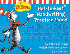 Eureka Cat in the Hat Writing Practice Paper 50 Sheets (805100)