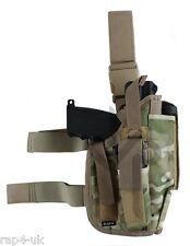 Mano DESTRA GRANDE Pistol Fondina da Gamba (ECD Mimetico come MUTICAM) Tipx, t8.1 [as5]