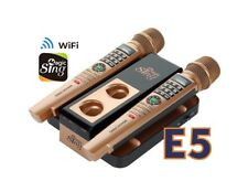New E5 WiFi 2 Wireless Mic Magic Sing Karaoke 12K Eng+12Mon International song