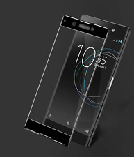 FULL CURVED EDGE 3D Round TEMPERED GLASS PROTECTOR For Sony Xperia XZ Premium