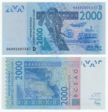 WEST AFRICAN STATES, MALI 2,000 2000 Francs 2003 (2004) P-416D UNC Uncirculated