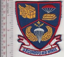 US Air Force USAF 2nd Aerial Port Squadron APS Airborne Secundus Ad Nihil