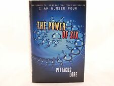 01/ Lorien Legacies: The Power of Six 2 by Pittacus Lore 1st Edition. VG+