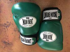 Pro Main Event Fight Gear 16 oz. Womens Green Boxing Gloves