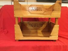 Handmade Wooden Cat Beds Double Or Single Made With Reclaim Wood With Name Tags
