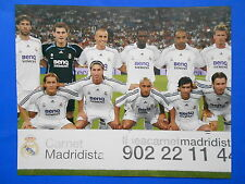 REAL MADRID  2006-2007 Team Print