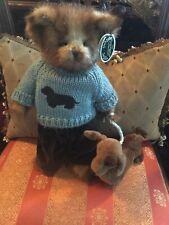 """Bearington Bears """"Danny & Doxie"""" 14""""~ #179854 - Retired- 2008~Htf~Wow"""