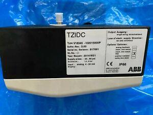 ABB:TZIDC:- 10-v18345-102015000P: Electro-digital positioner HART communication