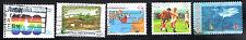 stamps AUSTRALIA A315 A317 A400(2) A489 LOT