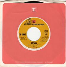 The Kinks - Apeman/Rats - Original Reprise 45 - Great Shape