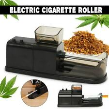 Electric Automatic Cigarette Injector Rolling Machine Tobacco Maker Roller Black
