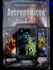 NECRONOMICON TAROT Book & Card Set *NEW & SEALED* H.P. Lovecraft. Ann Stokes