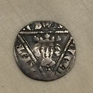 King Edward I Irish silver hammered penny 1st coin
