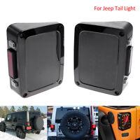 2x Feux arrière lumière frein LED lampe clignotant pour Jeep Wrangler JK 2007-16