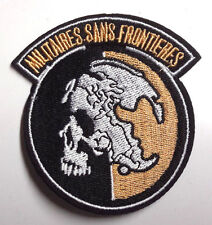 """Metal Gear Militaires Sans Frontieres 3"""" Embroidered Patch (MGPA-05)"""