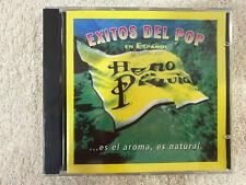 EXITOS DEL POP EN ESPAÑOL CD  NUEVO ENRIQUE IGLESIAS ROSARIO PEDRO GUERRA ROSANA