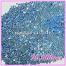 Decoración de acrílico color principal azul para uñas