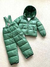 Kid's MONCLER Down Snowsuit Boys Girls Jacket Pants Salopettes SZ 4 years 104cm